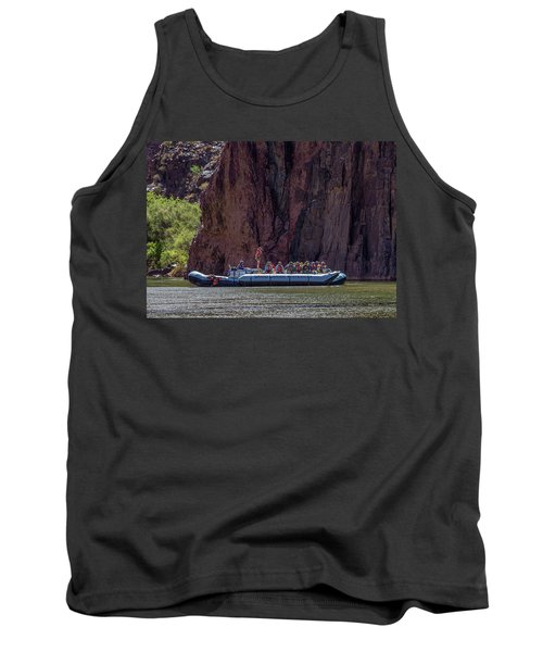 Rafters On The Colorado River, Grand Canyon Tank Top