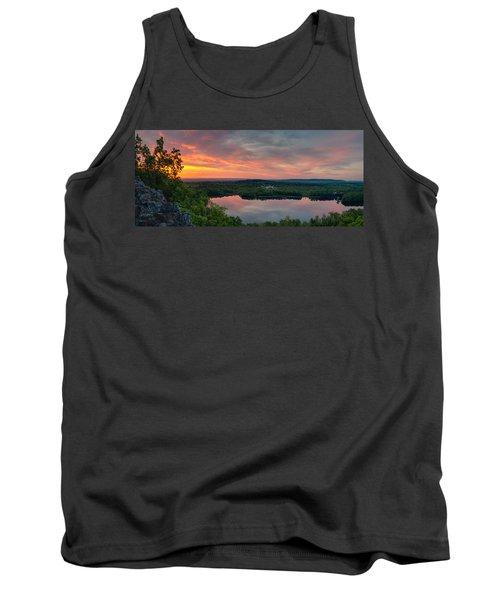 Ragged Mountain Sunrise Tank Top