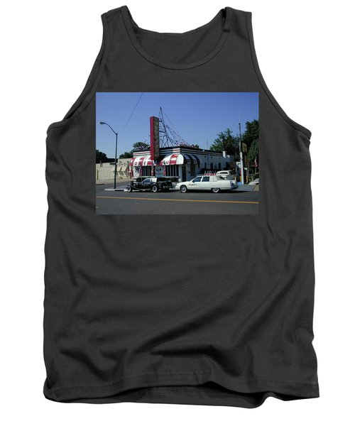 Tank Top featuring the photograph Raifords Disco Memphis A by Mark Czerniec