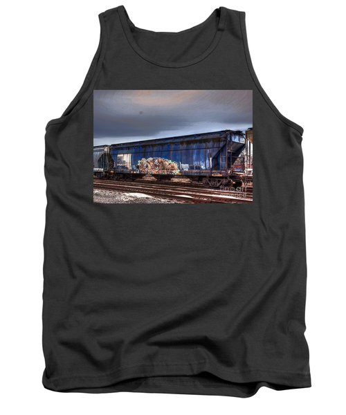 Tank Top featuring the photograph Rail Art by Robert Pearson