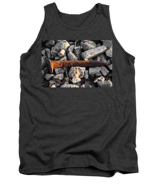 Railroad Spike Tank Top