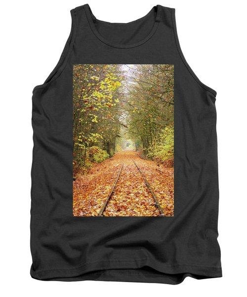 Railroad Tracks Tank Top