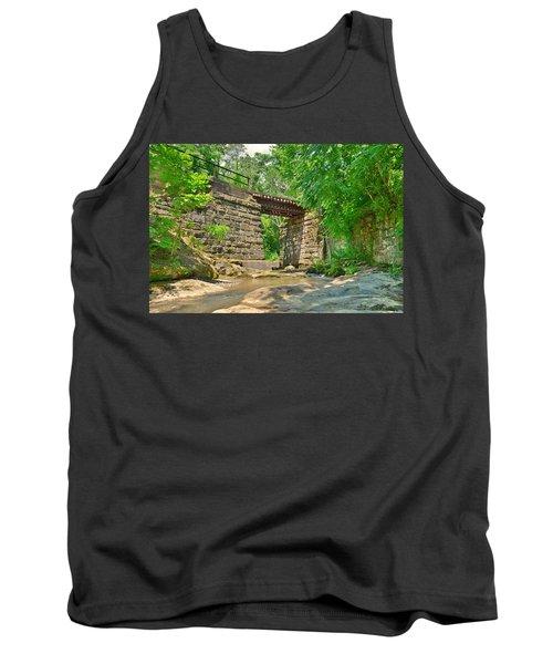 Railroad Tracks At Buttermilk/homewood Falls Tank Top