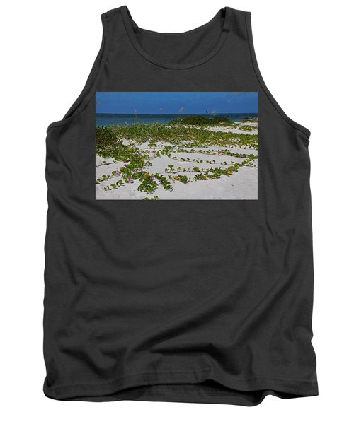 Railroad Vines On Boca IIi Tank Top