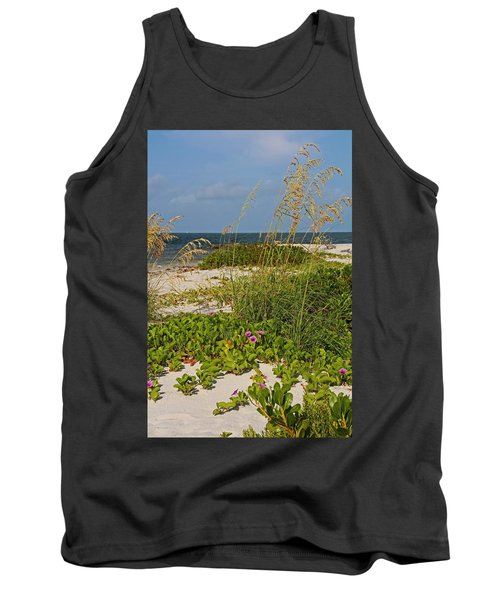 Railroad Vines On Boca Iv Tank Top