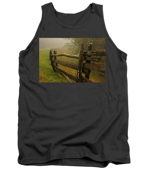 Rails Of Time Tank Top by Dale R Carlson