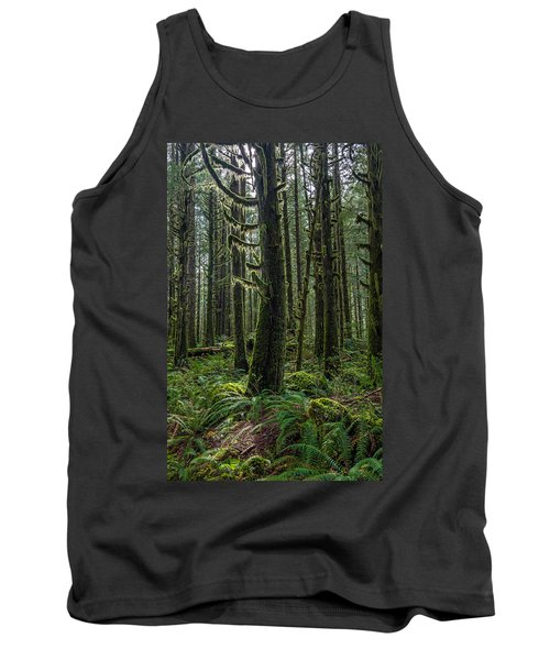 Rain Forest Of Golden Ears Tank Top by Pierre Leclerc Photography