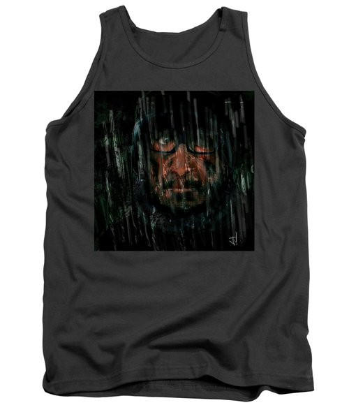 Tank Top featuring the painting Rain Nor Sleet Nor Snow by Jim Vance