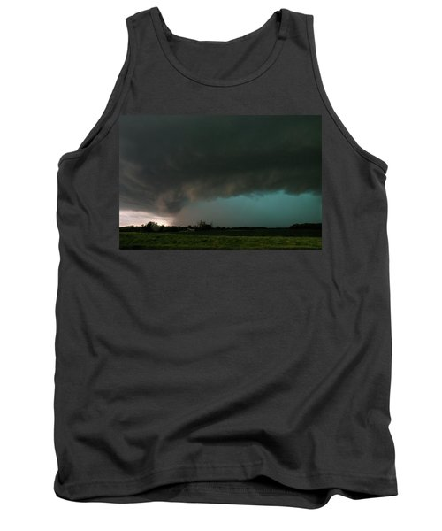 Rain-wrapped Tornado Tank Top