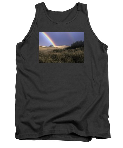 Rainbow And Dunes Tank Top