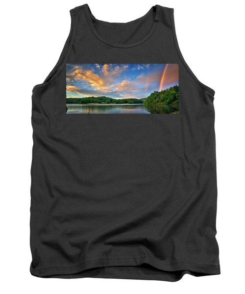 Rainbow At Linville Land Harbor Tank Top