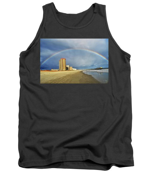Tank Top featuring the photograph Rainbow Beach by Kelly Reber