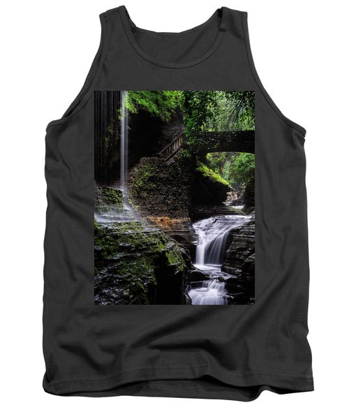 Tank Top featuring the photograph Rainbow Falls by Edgars Erglis