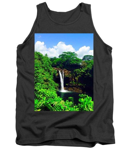 Rainbow Falls Hilo Hawaii Tank Top