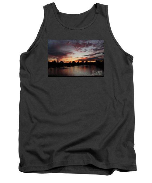 Rainbow Foutain Tank Top