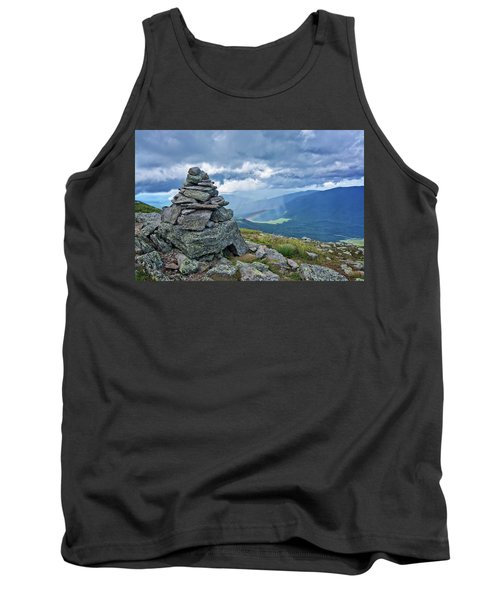 Rainbow In The Mist Nh Tank Top by Michael Hubley