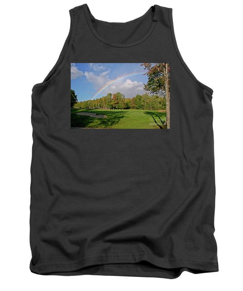 Rainbow Over # 6 Tank Top by Butch Lombardi
