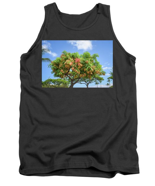 Tank Top featuring the photograph Rainbow Shower Tree 1 by Jim Thompson