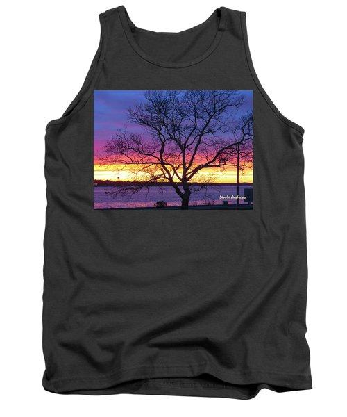 Rainbow Sunset Tank Top