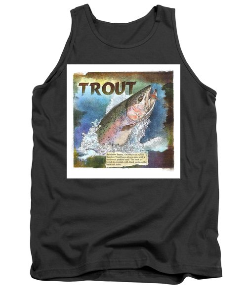 Rainbow Trout Tank Top