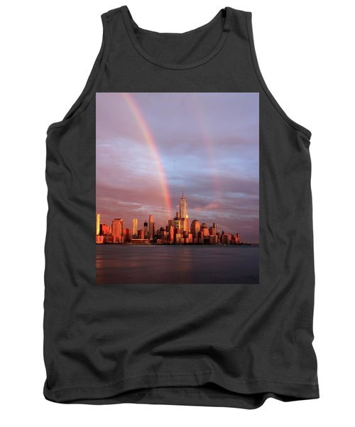 Rainbows In Nyc Tank Top