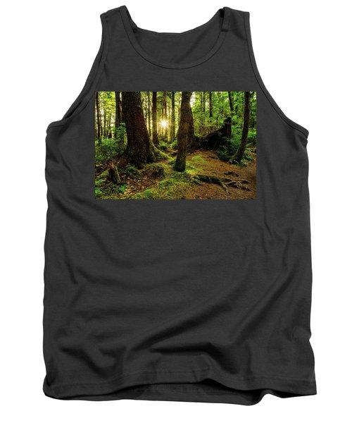 Rainforest Path Tank Top by Chad Dutson