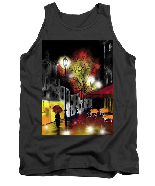 Raining And Color Tank Top