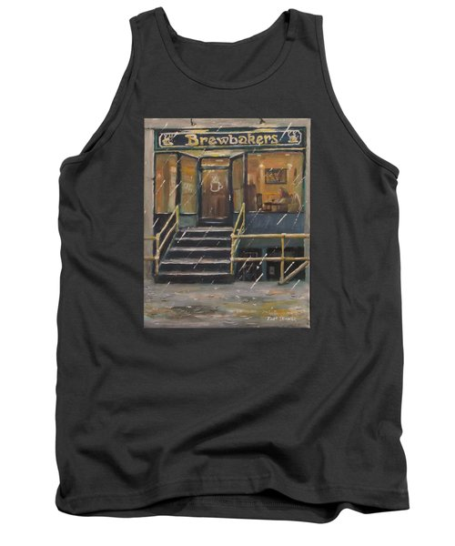 Rainy November Afternoon Coffee Tank Top