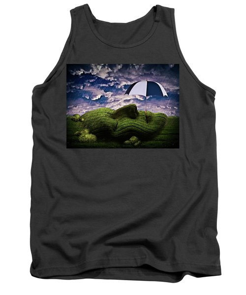 Rainy Summer Day Tank Top by Mihaela Pater