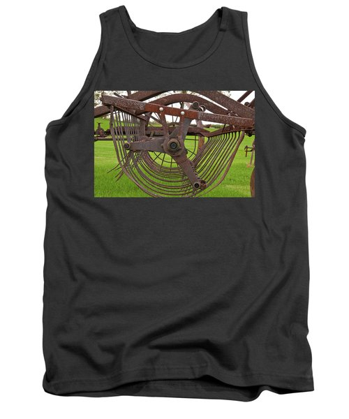 Tank Top featuring the photograph Rake 3118 by Guy Whiteley