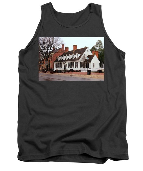 Raleigh Tavern 2 Tank Top by Lou Ford