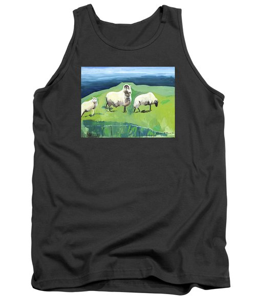 Ram On A Hill Tank Top