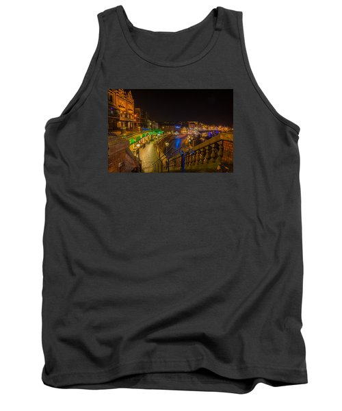 Ramsgate West Cliff Arcade Restaurants At Night  Tank Top