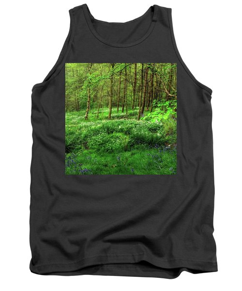 Ramsons And Bluebells, Bentley Woods Tank Top