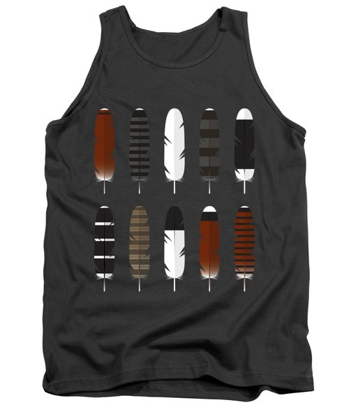 Raptor Feathers - Square Tank Top