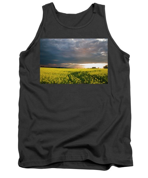 Tank Top featuring the photograph Rays At Sunset by Rob Hemphill