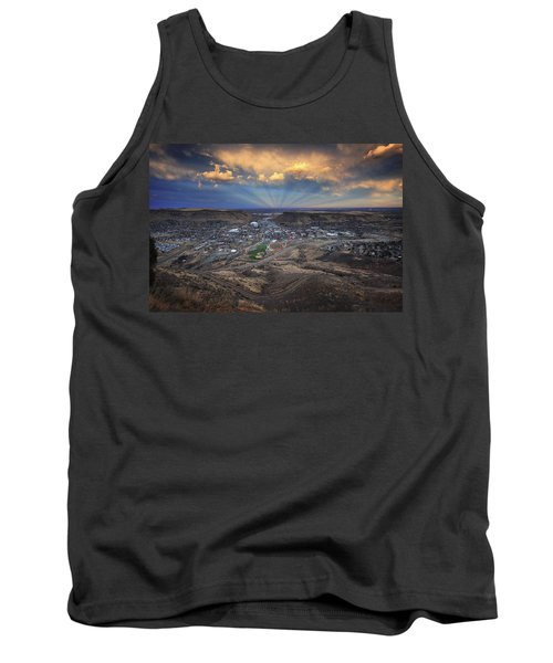 Rays Over Golden Tank Top