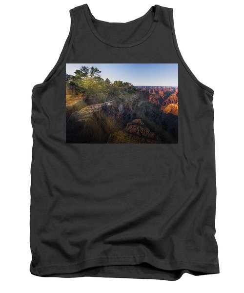 Rays Over The Canyon  Tank Top