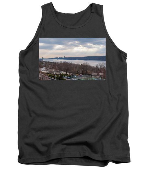 Rays Over The Hudson Tank Top