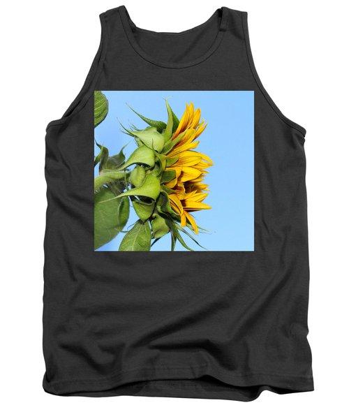 Reaching Sunflower Tank Top