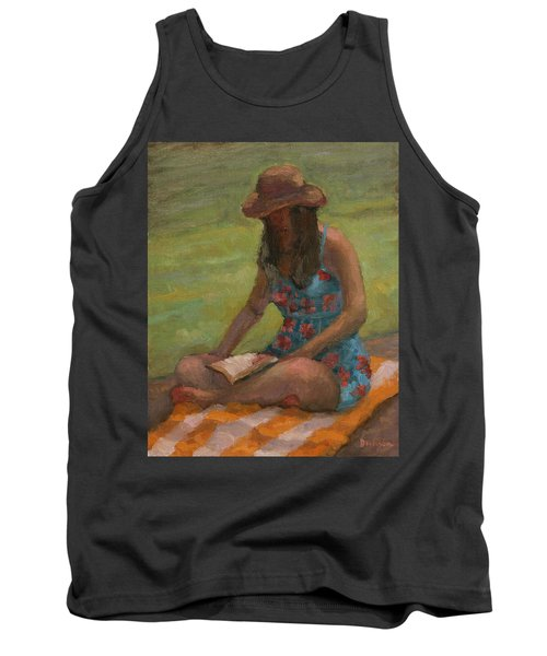 Reading At Jersey Valley Tank Top