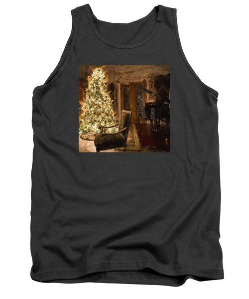 Ready For Christmas Tank Top by Cathy Jourdan