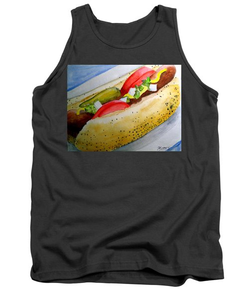 Real Deal Chicago Dog Tank Top