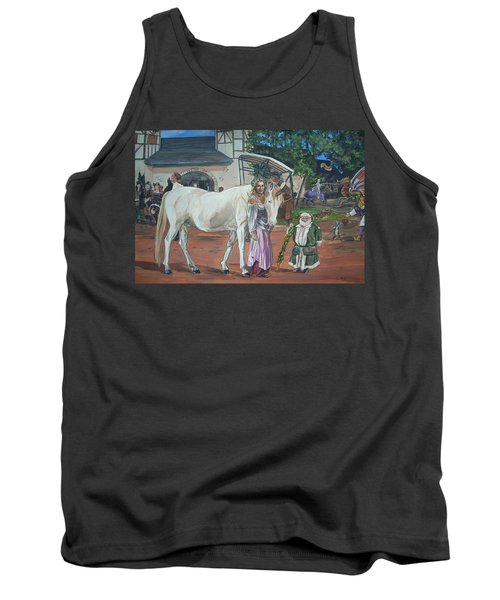 Real Life In Her Dreams Tank Top by Bryan Bustard