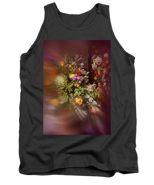 Tank Top featuring the photograph Floral Arrangement No. 1 by Richard Cummings