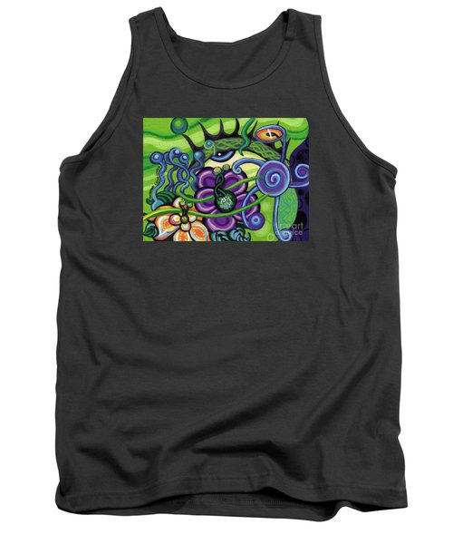 Reciprocal Liason Of The Sea II Tank Top by Genevieve Esson