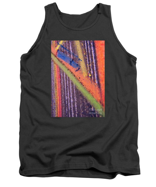 Tank Top featuring the pastel Record  Lp by Kristine Nora