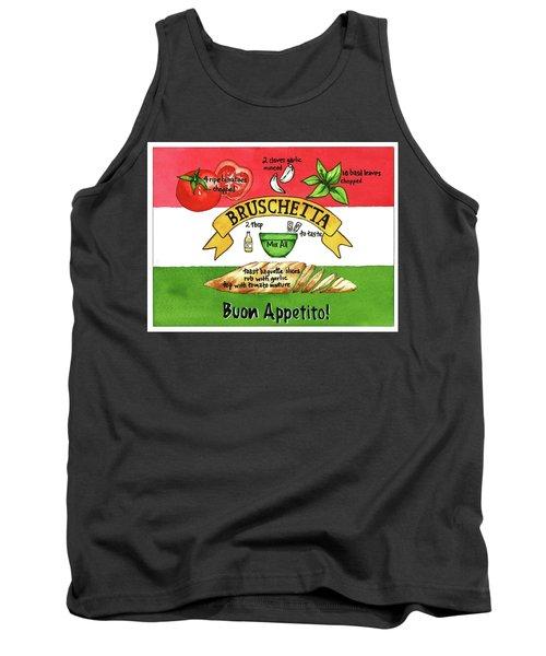 Recpe-bruschetta Tank Top