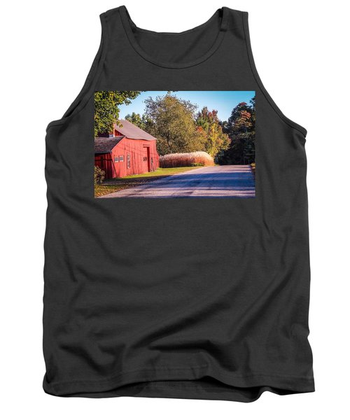 Red Barn In The Country Tank Top