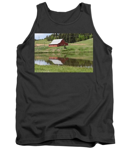 Red Barn Burgess Res Divide Co Tank Top